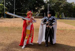 Hikaru and Lantis