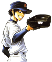 Eijun Sawamura by 98monehp