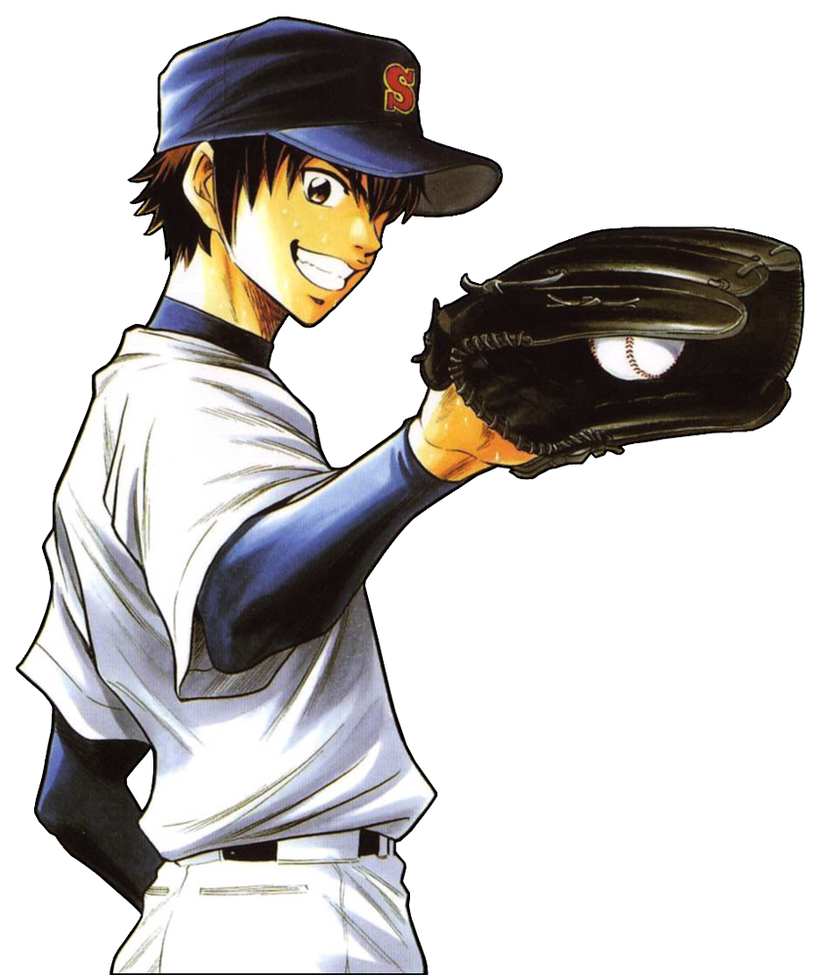 Manga Images Diamond No Ace Wallpaper And Background: Eijun Sawamura By 98monehp On DeviantArt