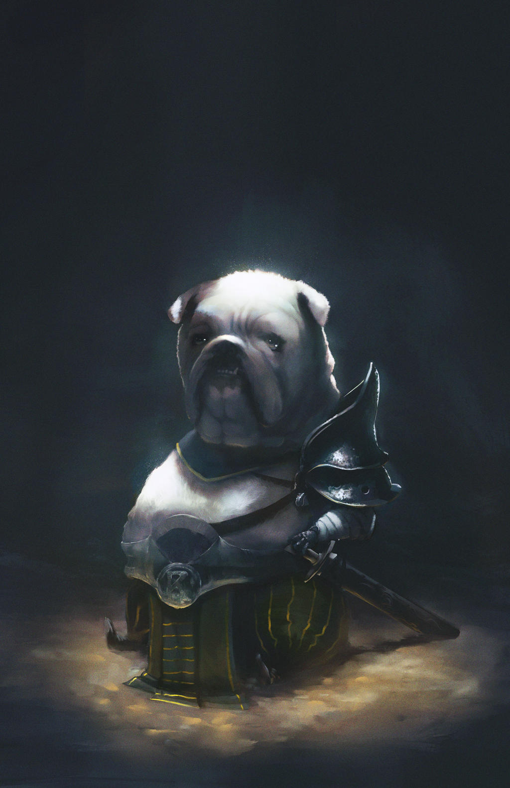 Warrior dog #2 by ariirf on DeviantArt