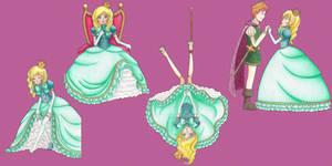 La princesa con pies de troll