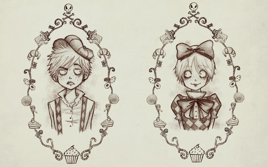 Hansel and Gretel: Portraits by MiiBT