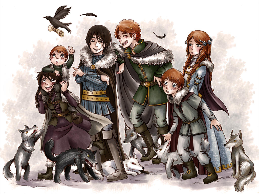 Stark Children by MiiBT