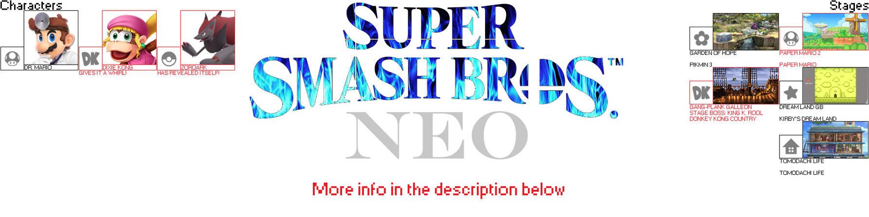 Super Smash Bros  Neo - Secrets 2 by FlameEagle25 on DeviantArt