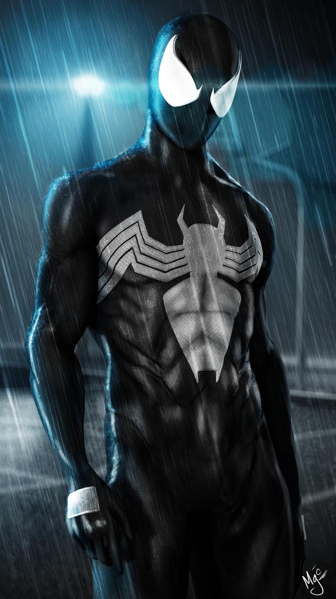 Black Spider-Man by MisterGoodCat on DeviantArt