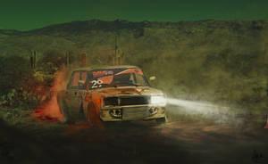 Russian Drift by MisterGoodCat