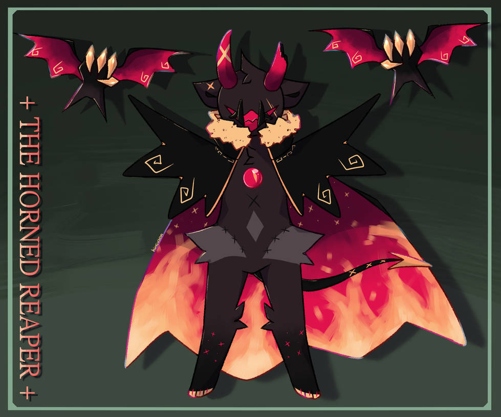 [Auction] The Horned Reaper | Adoptable - OPEN