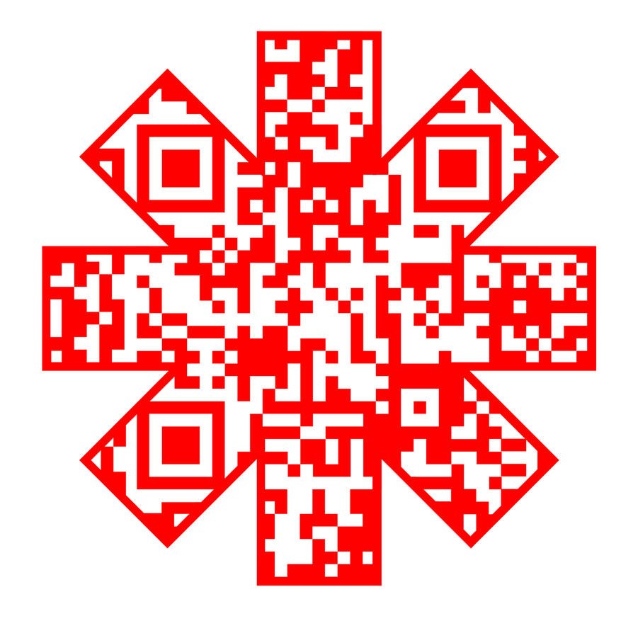 Red hot chili peppers qr code by lordofthebass on deviantart red hot chili peppers qr code by lordofthebass biocorpaavc