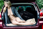Nude in Trunk by JonMann
