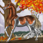 Autumn Time by HorseOfBlackestNight