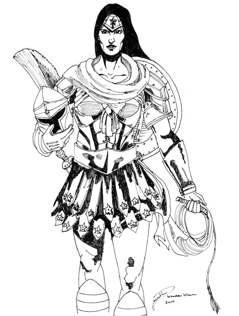 Wonder Woman by Geekboy15