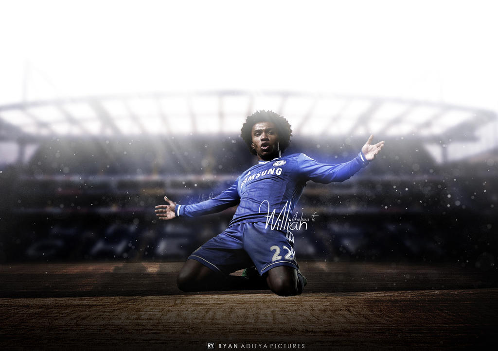 Willian Wallpaper By RyanGFXpictures On DeviantArt