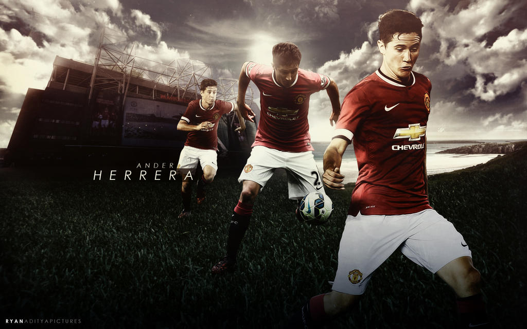 Ander Herrera Wallpaper: Ander Herrera Wallpaper By RyanGFXpictures On