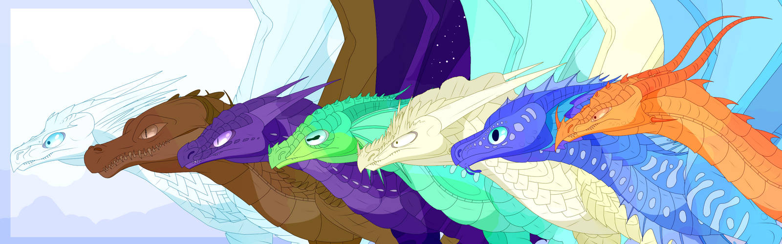 (Pyhrrian Tribes) Wings of Fire Fullbody Bases