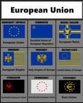 Ideology flags, EU