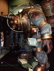 BioShock Big Daddy. by GermanCityGirl