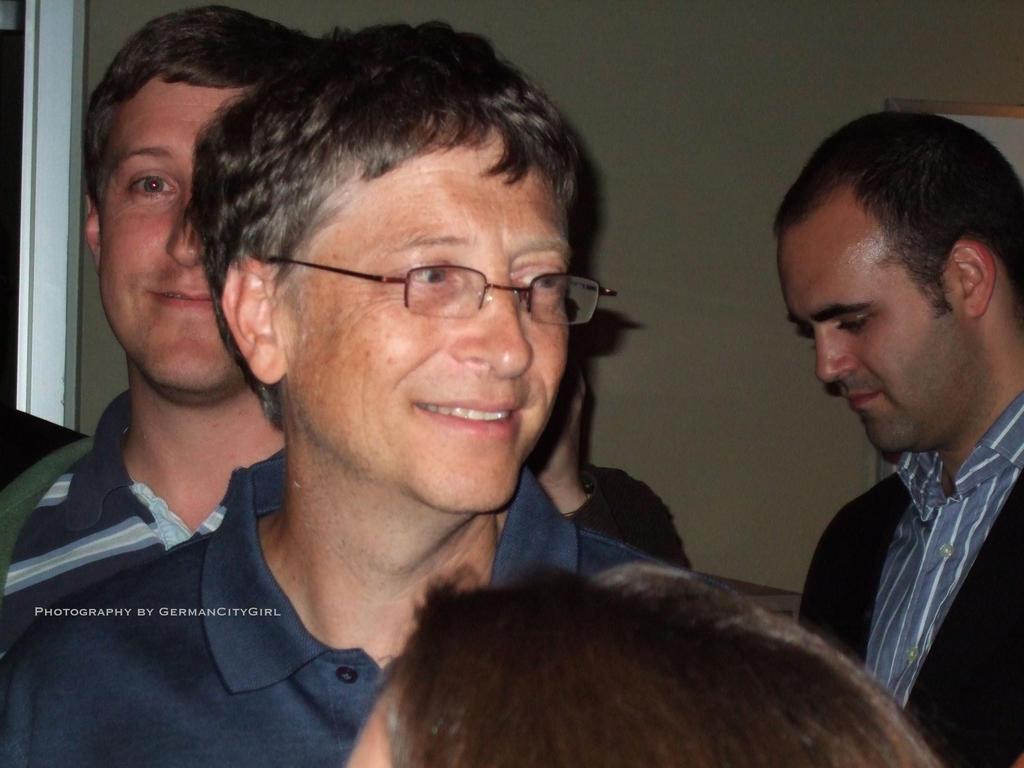 Bill Gates. by GermanCityGirl