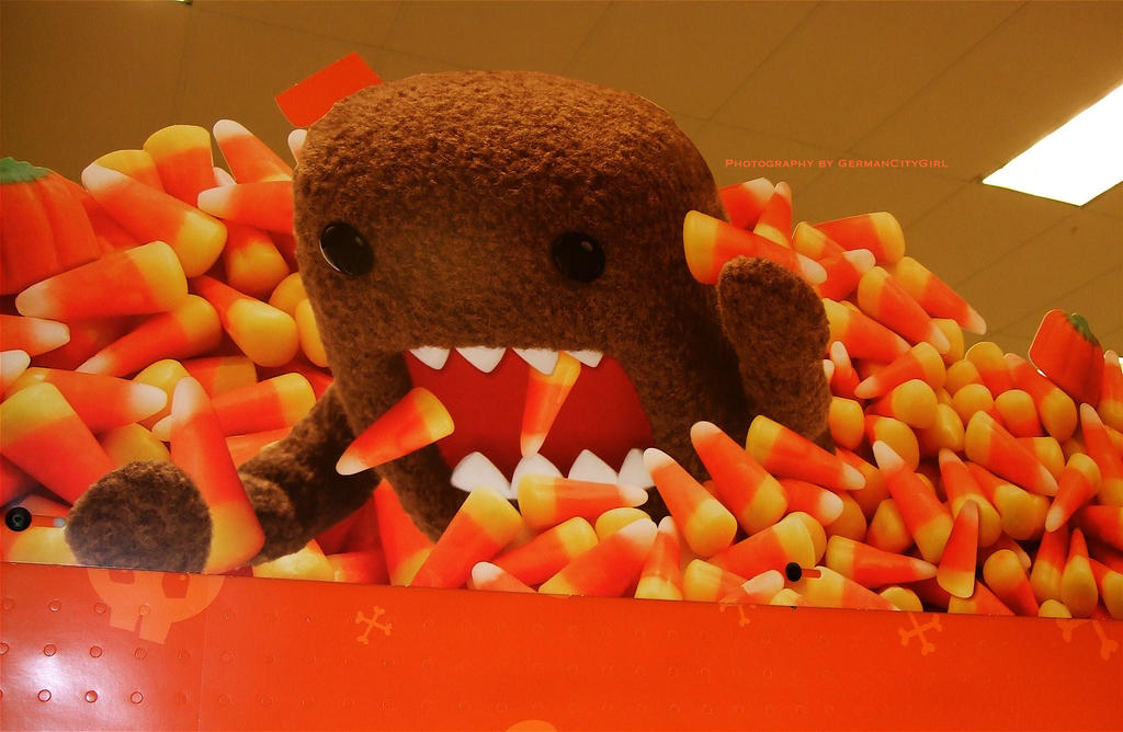 Domo-kun Halloween 012. by GermanCityGirl