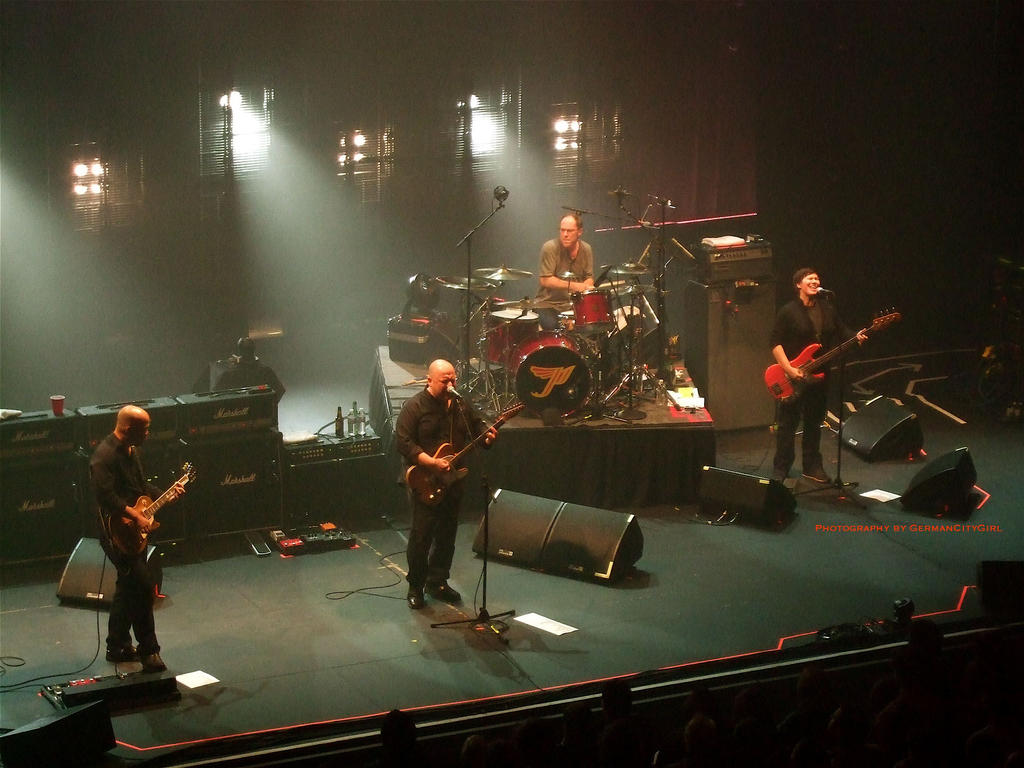 Pixies Tour  Line Up