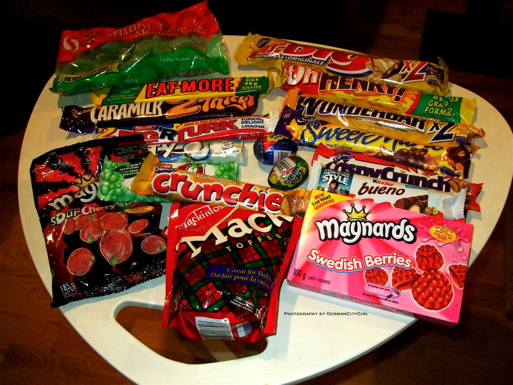 Canadian candy.