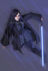Commission: Jedi Tanake Trang. by GermanCityGirl