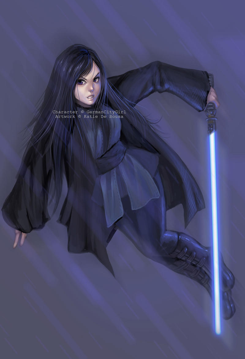 Commission: Jedi Tanake Trang. by GermanCityGirl