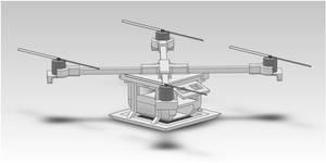 Quad-Rotor UAV by Ash243x