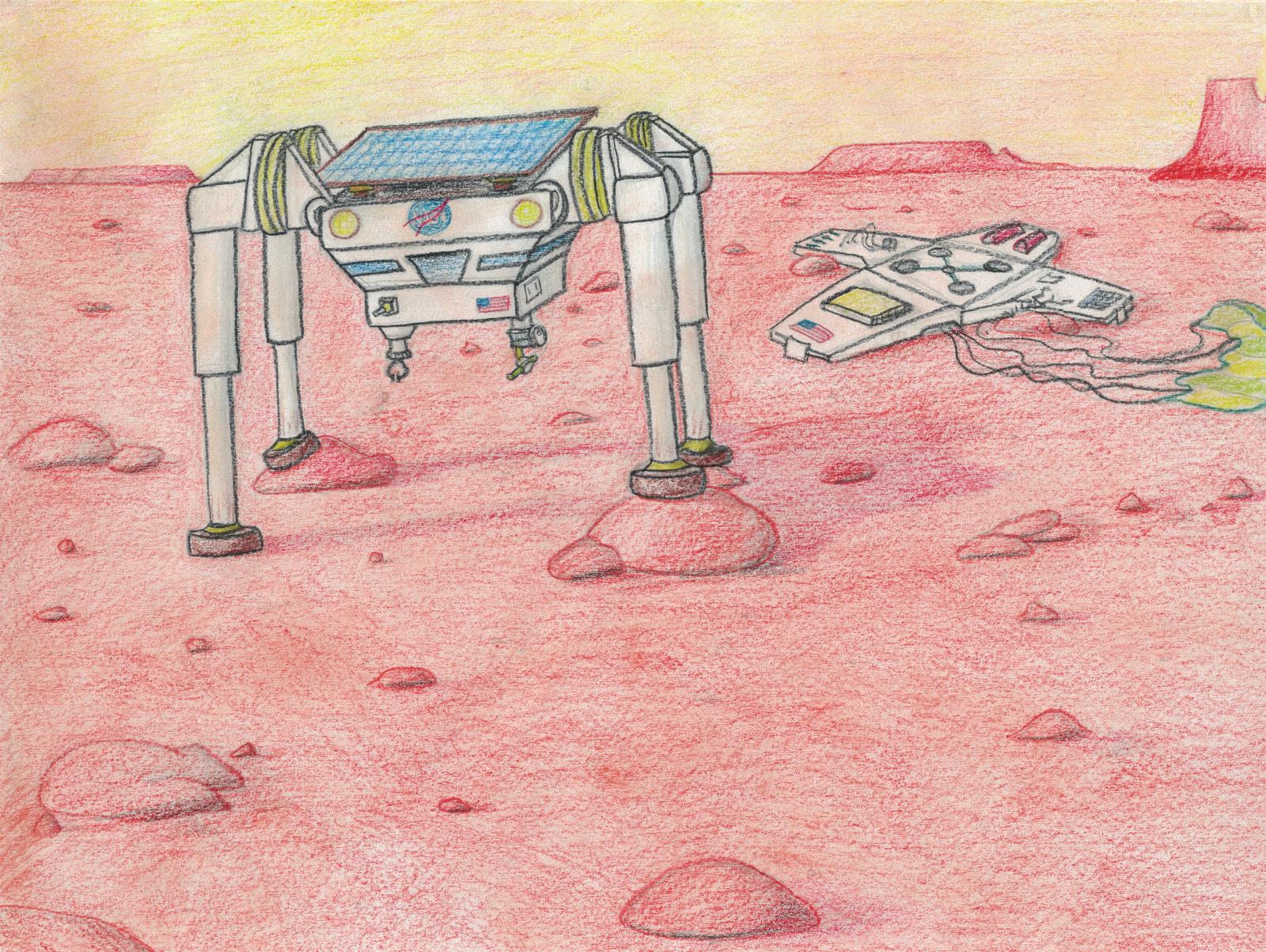 Walking on Mars by Ash243x
