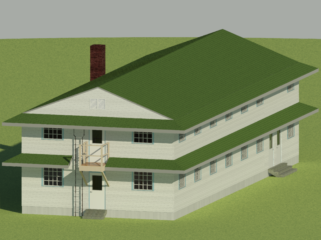 First Revit Building by Ash243x
