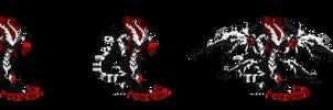 Illiam the Undead Dragon by frivl