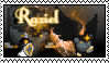 .:Raziel, the Archangel Stamp:. by iWeavile-X