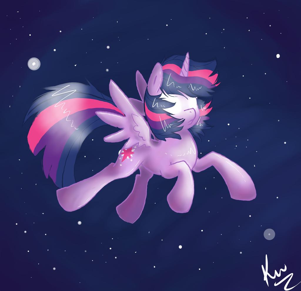 Twilight In Space by Kunomasu
