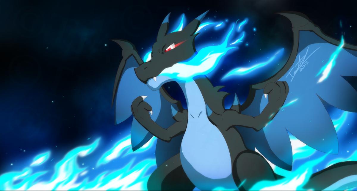 Mega Charizard X - Firestorm by GallantZale