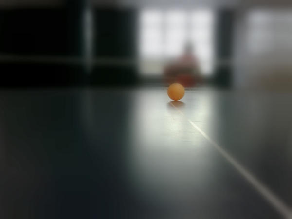 Ping pong tableXD by mallieCullen