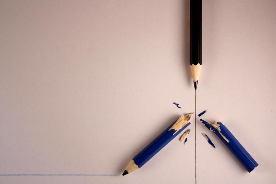 Pencil War by dgcdvaras