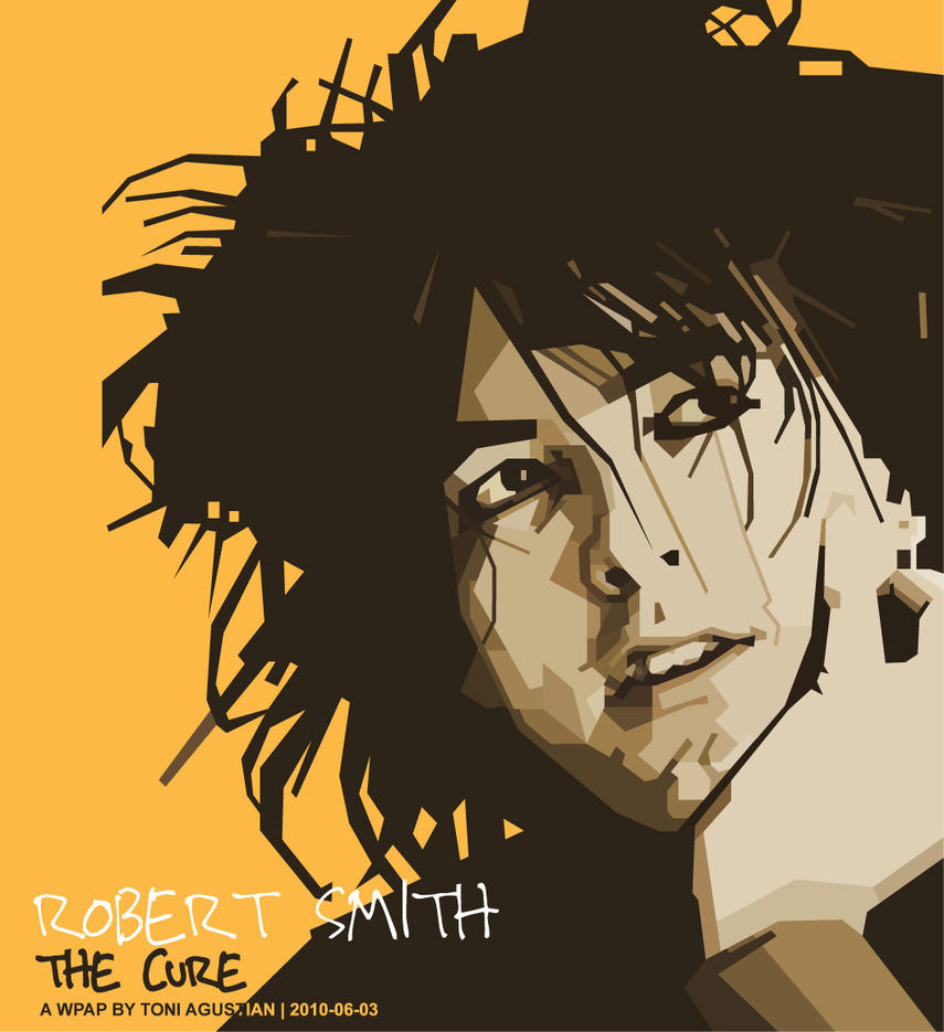 Robert Smith, The Cure in WPAP by toniagustian ... - robert_smith__the_cure_in_wpap_by_toniagustian