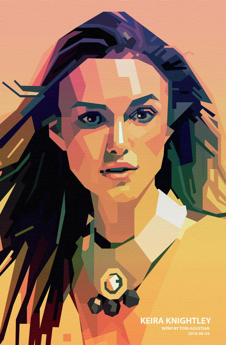 Keira Knightley in WPAP by toniagustian