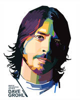 Dave Grohl 2 in WPAP by toniagustian
