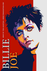 Billie Joe A1 Poster PNG no Bleeds med