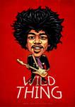 Jimi Hendrix-Caricature-#2--Toni-Agustian by toniagustian