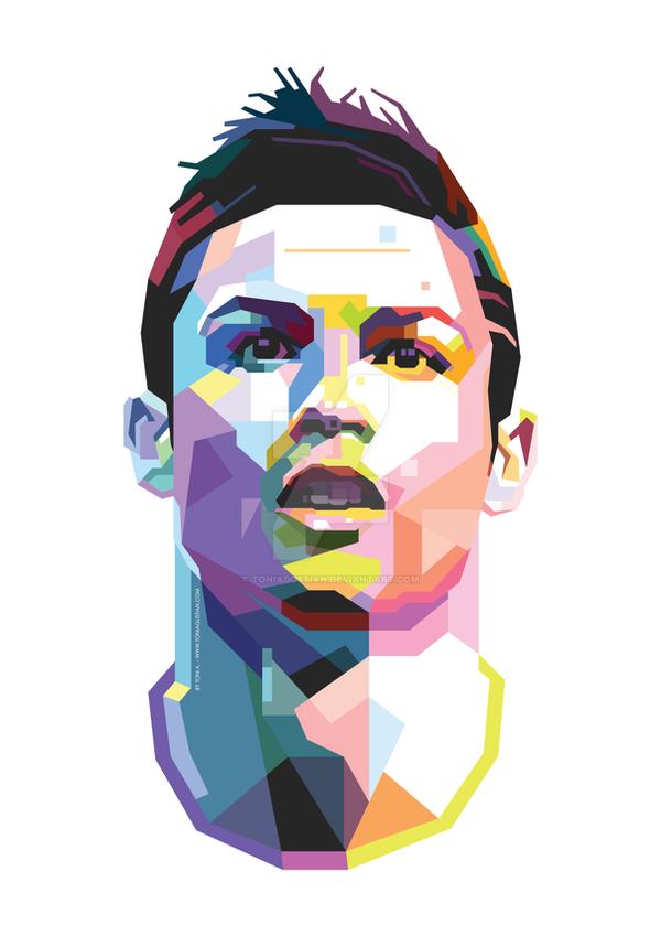Cristiano Ronaldo (CR7) WPAP by toniagustian