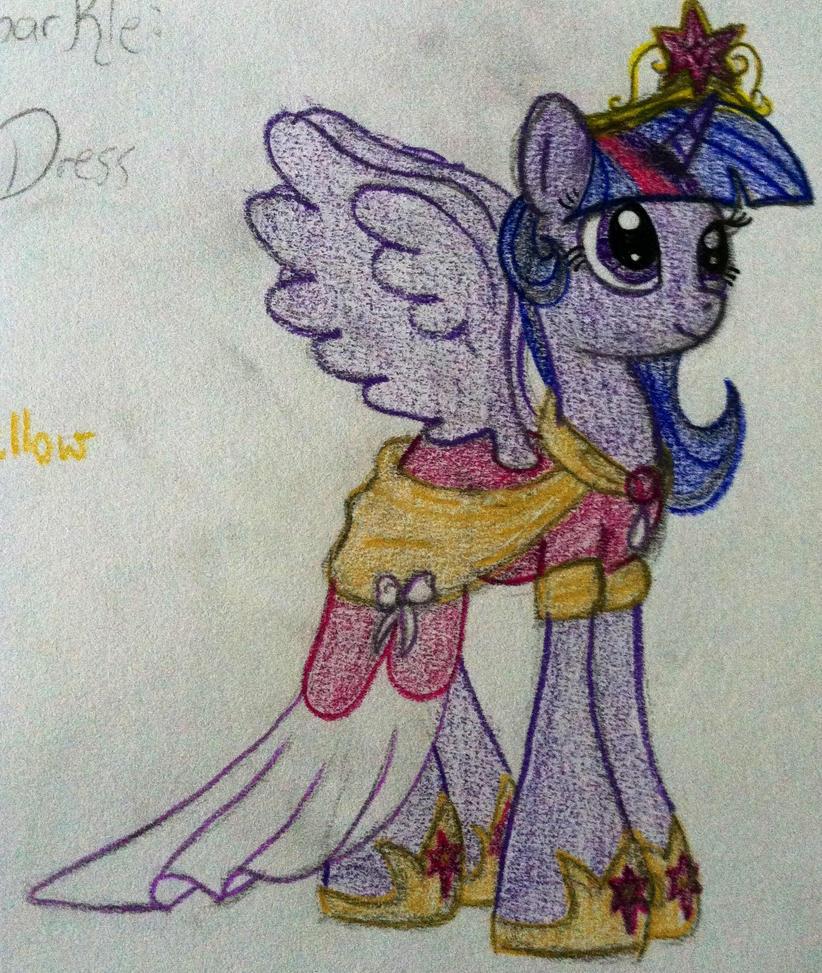 Princess Twilight Sparkle s Coronation Dress by RarityForeverPrincess Twilight Sparkle Coronation