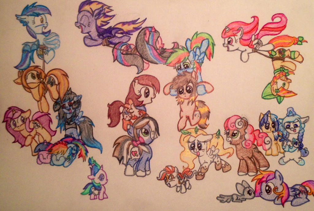 Too Many Fillies by RarityForever