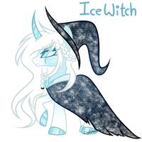 Winter Adopt: Ice Witch (CLOSED) by DreamyEevee