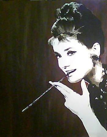 Audrey Hepburn by remsND
