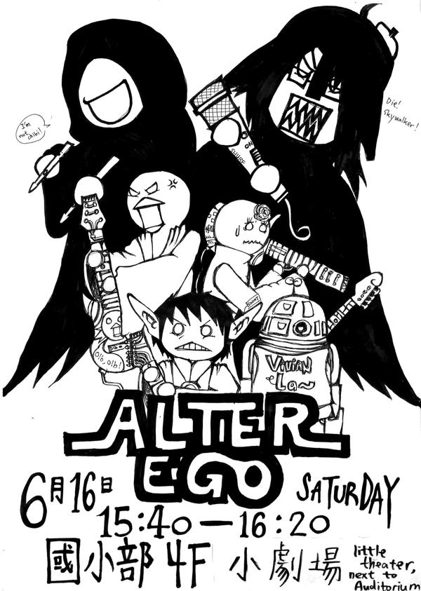 Alter Ego rock band poster by kscat5220 on DeviantArt