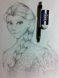 Elsa by LingXiaoXian