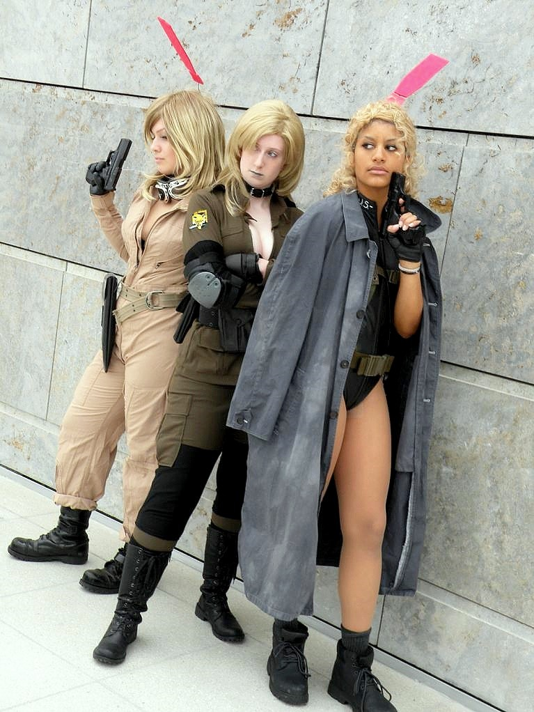 Metal gear solid babes by Kagoya-chan