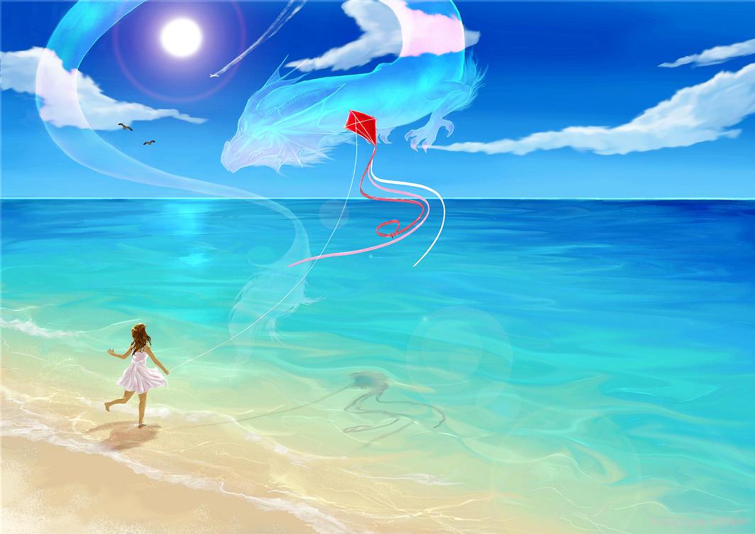 The Dragon and Me by Kagoya-chan