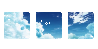 animu clouds. -f2u by kittiqui